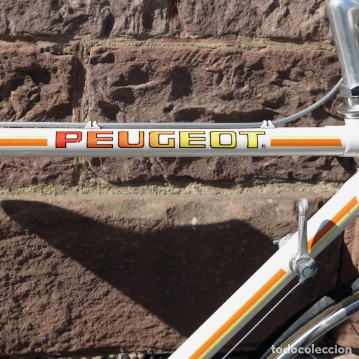 Vintage: Muy buen estado. Vintage Peugeot bicicleta de carretera. 1970 - 1980. (BRD) - Foto 9 - 136266078