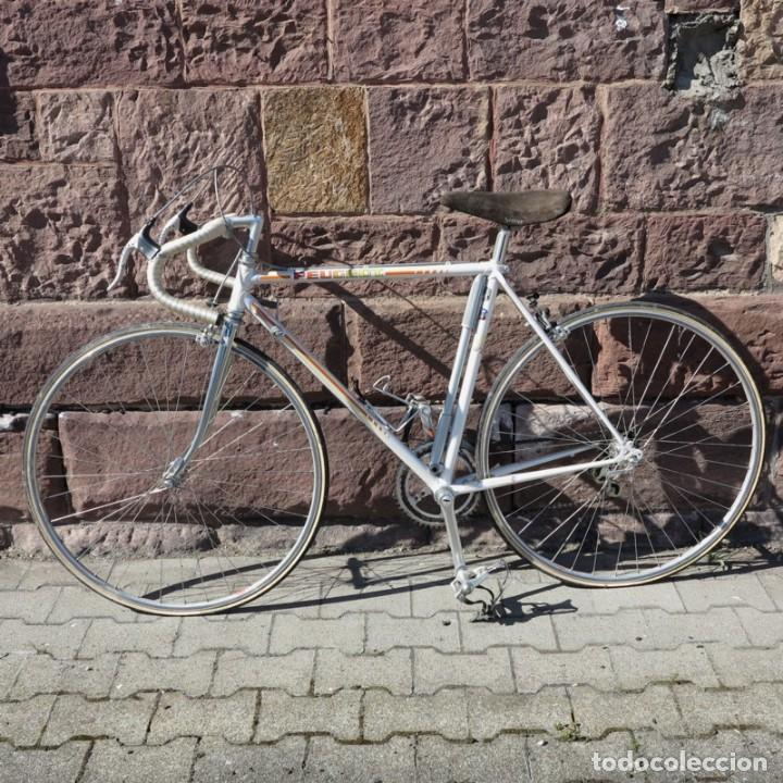Vintage: Muy buen estado. Vintage Peugeot bicicleta de carretera. 1970 - 1980. (BRD) - Foto 12 - 136266078