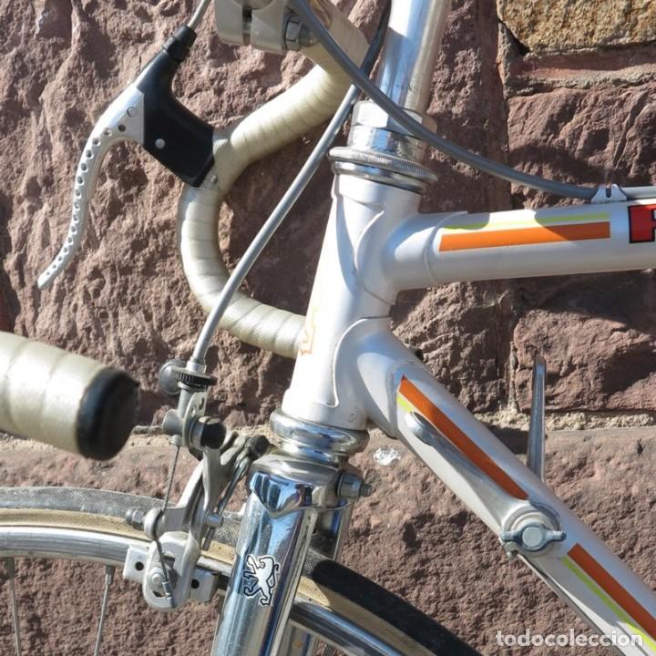 Vintage: Muy buen estado. Vintage Peugeot bicicleta de carretera. 1970 - 1980. (BRD) - Foto 18 - 136266078