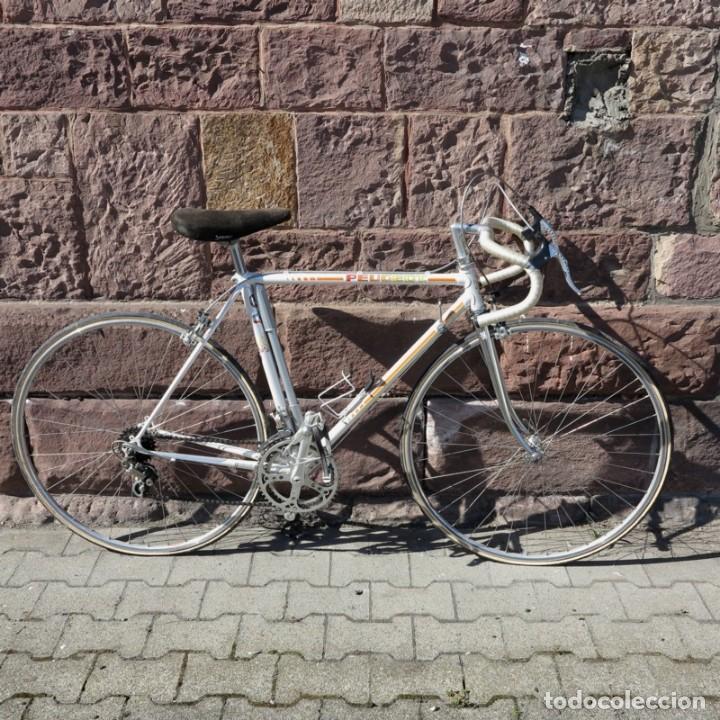 Vintage: Muy buen estado. Vintage Peugeot bicicleta de carretera. 1970 - 1980. (BRD) - Foto 23 - 136266078