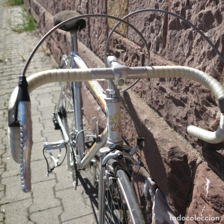 Vintage: Muy buen estado. Vintage Peugeot bicicleta de carretera. 1970 - 1980. (BRD) - Foto 27 - 136266078