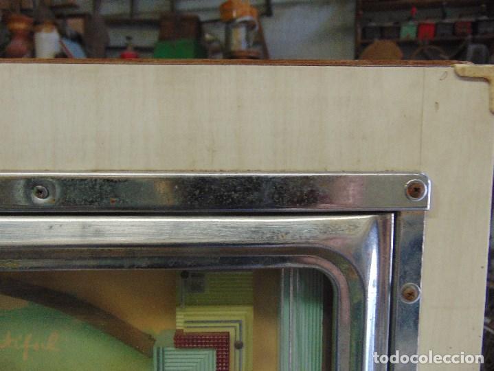Vintage: MAQUINA RECREATIVA JAPONESA EN MADERA Y METAL TIPO PINBALL DE LA MARCA NISHIJIN SUPER DH - Foto 3 - 136584226
