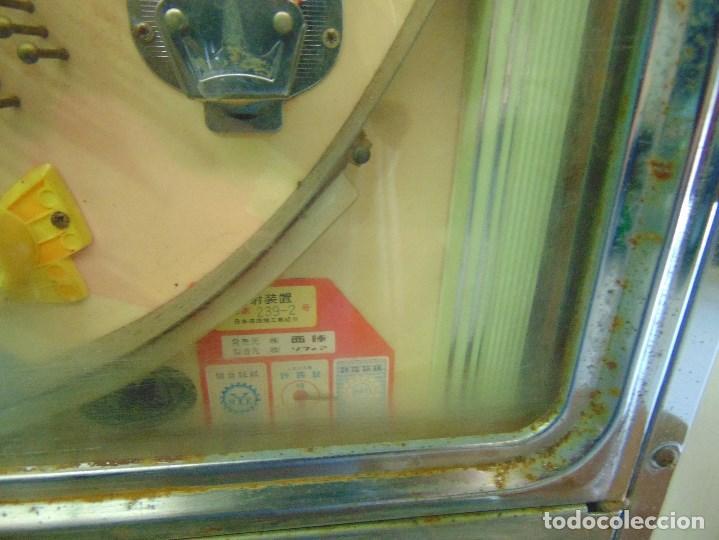 Vintage: MAQUINA RECREATIVA JAPONESA EN MADERA Y METAL TIPO PINBALL DE LA MARCA NISHIJIN SUPER DH - Foto 9 - 136584226