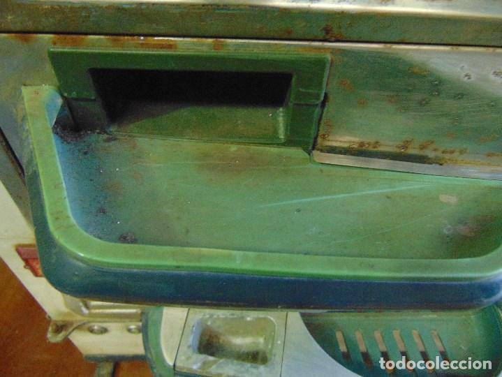 Vintage: MAQUINA RECREATIVA JAPONESA EN MADERA Y METAL TIPO PINBALL DE LA MARCA NISHIJIN SUPER DH - Foto 11 - 136584226