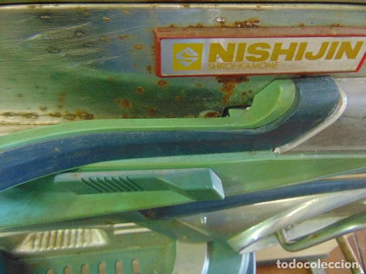 Vintage: MAQUINA RECREATIVA JAPONESA EN MADERA Y METAL TIPO PINBALL DE LA MARCA NISHIJIN SUPER DH - Foto 12 - 136584226