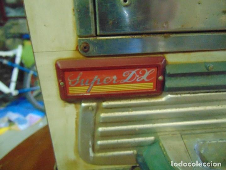Vintage: MAQUINA RECREATIVA JAPONESA EN MADERA Y METAL TIPO PINBALL DE LA MARCA NISHIJIN SUPER DH - Foto 13 - 136584226