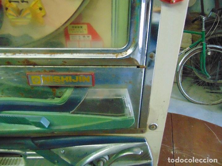 Vintage: MAQUINA RECREATIVA JAPONESA EN MADERA Y METAL TIPO PINBALL DE LA MARCA NISHIJIN SUPER DH - Foto 19 - 136584226