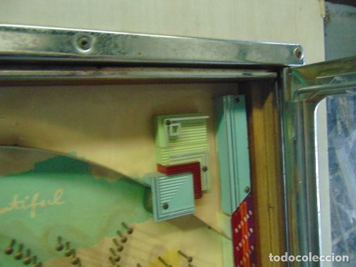 Vintage: MAQUINA RECREATIVA JAPONESA EN MADERA Y METAL TIPO PINBALL DE LA MARCA NISHIJIN SUPER DH - Foto 22 - 136584226
