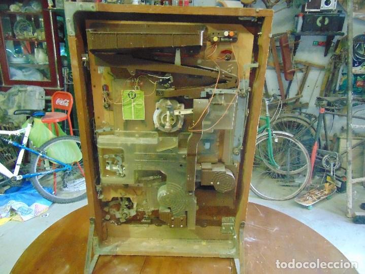Vintage: MAQUINA RECREATIVA JAPONESA EN MADERA Y METAL TIPO PINBALL DE LA MARCA NISHIJIN SUPER DH - Foto 38 - 136584226