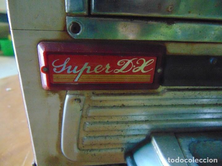 Vintage: MAQUINA RECREATIVA JAPONESA EN MADERA Y METAL TIPO PINBALL DE LA MARCA NISHIJIN SUPER DH - Foto 64 - 136584226