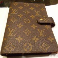 Vintage: LOUIS VUITTON PARIS AGENDA ORIGINAL AÑOS 90 / NO CÓPIA MEDIDAS 19 X 15 CMS (G). Lote 136914494