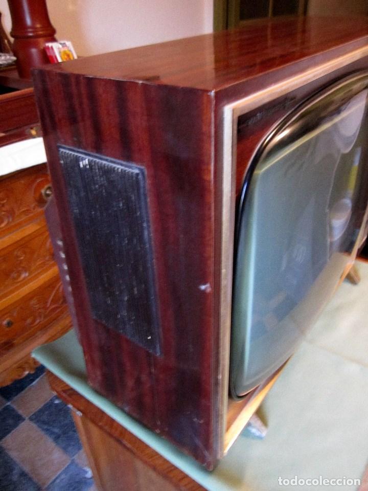 Vintage: GRAN TELEVISOR VANGUARD RETRO VINTAGE - TELEVISIÓN A VÁLVULAS/LÁMPARAS - Foto 5 - 163838869