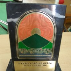 Vintage: ALMERÍA V EXPO AGRO 1986 MÁRMOL. Lote 137200096
