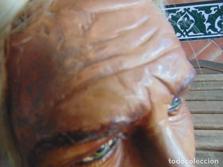 Vintage: CABEZA DE MANIQUI O EXPOSITORA DE ALGUNA TIENDA TAMAÑO REAL DE GRAN REALISMO - Foto 21 - 208768752