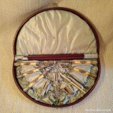 Vintage: ESTUCHE COSTURERO ABANICO. Lote 138265950