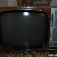 Vintage: TELEVISOR TELEVISIÓN B/N GEE GENERAL ELÉCTRICA ESPAÑOLA 65 CM DIAGONAL. Lote 161231081