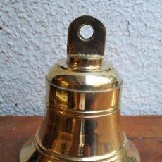 Vintage: CAMPANA DE BRONCE DE BARCO. Lote 204642746