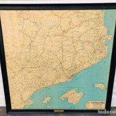 Vintage: CATALUÑA MAPA VINTAGE RETRO. Lote 139165036
