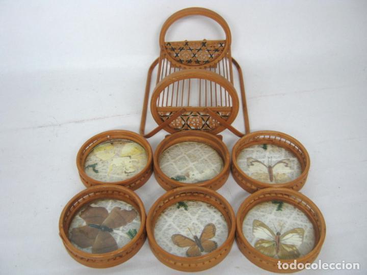 Vintage: juego set posavasos - Foto 2 - 139236134
