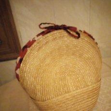 Vintage: BONITO CESTO DE MIMBRE FORRADO PARA PAN.. Lote 139604234