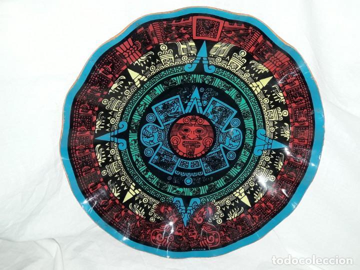 Magnifica Bandeja Frutero Calendario Azteca De Kaufen Andere