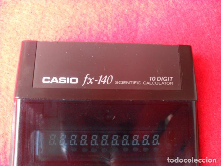 Vintage: vintage calculadora casio FX-140,funcionando - Foto 3 - 140239490