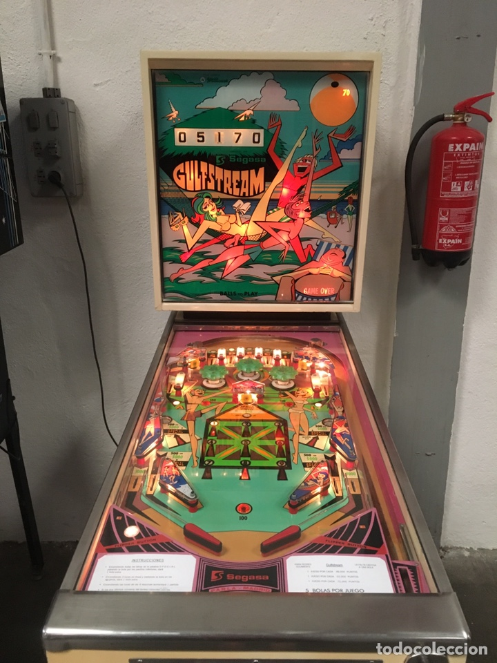 Vintage: Pinball Gulfstream electromecánica,Williams,flipper,gottieb,inder,Bally, - Foto 3 - 140559792