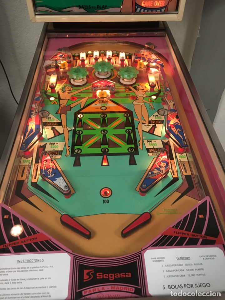 Vintage: Pinball Gulfstream electromecánica,Williams,flipper,gottieb,inder,Bally, - Foto 5 - 140559792
