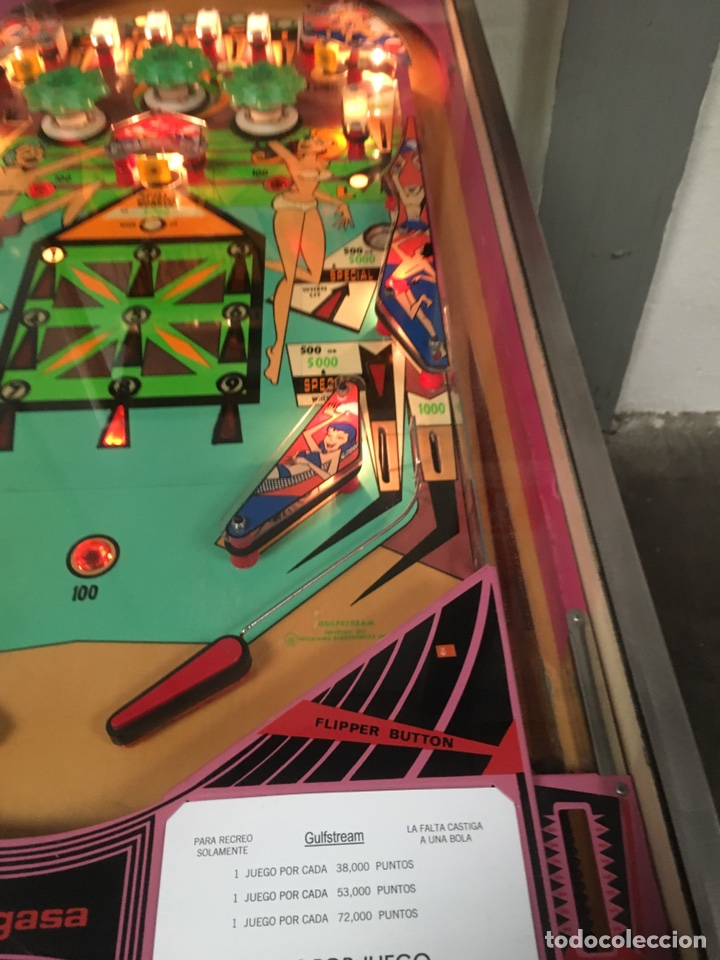 Vintage: Pinball Gulfstream electromecánica,Williams,flipper,gottieb,inder,Bally, - Foto 8 - 140559792