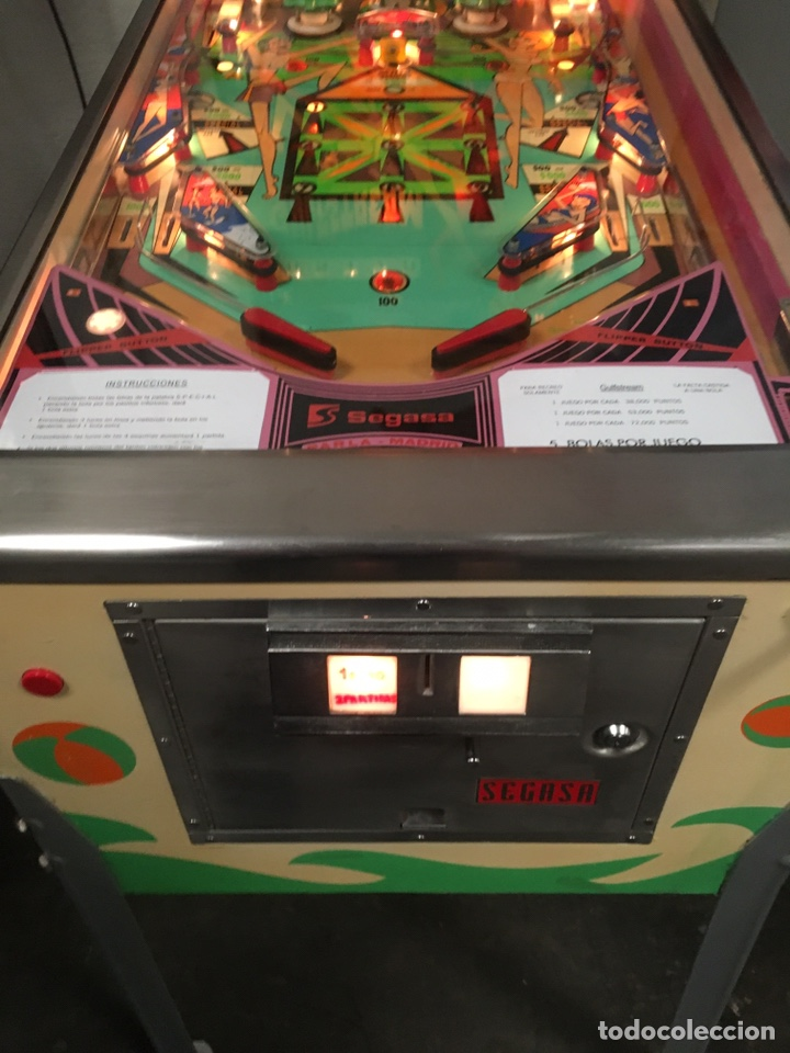 Vintage: Pinball Gulfstream electromecánica,Williams,flipper,gottieb,inder,Bally, - Foto 10 - 140559792