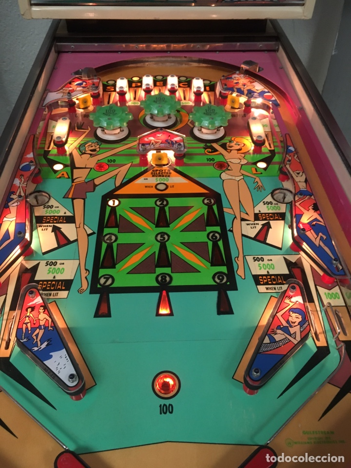 Vintage: Pinball Gulfstream electromecánica,Williams,flipper,gottieb,inder,Bally, - Foto 13 - 140559792