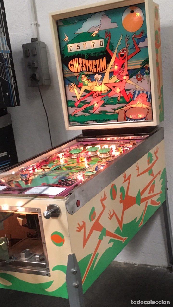PINBALL GULFSTREAM ELECTROMECÁNICA,WILLIAMS,FLIPPER,GOTTIEB,INDER,BALLY, (Vintage - Varios)