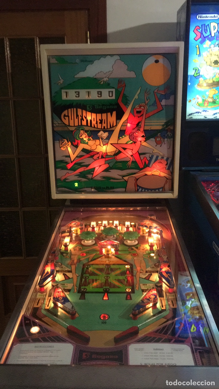 Vintage: Pinball Gulfstream electromecánica,Williams,flipper,gottieb,inder,Bally, - Foto 2 - 140559792