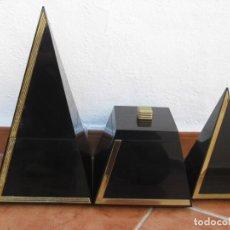 Vintage: BOTES DE DECORACIÓN. VINTAGE. CON SEÑALES DEL TIEMPO.. Lote 140745402