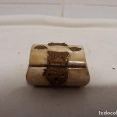 Vintage: CAJA HUESO. Lote 141344486