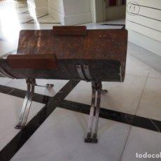Vintage: REVISTERO O PARA TRONCOS CHIMENEA. DE COBRE Y ACERO INOXIDABLE. HECHO A MANO. AÑO 70.. Lote 141468710