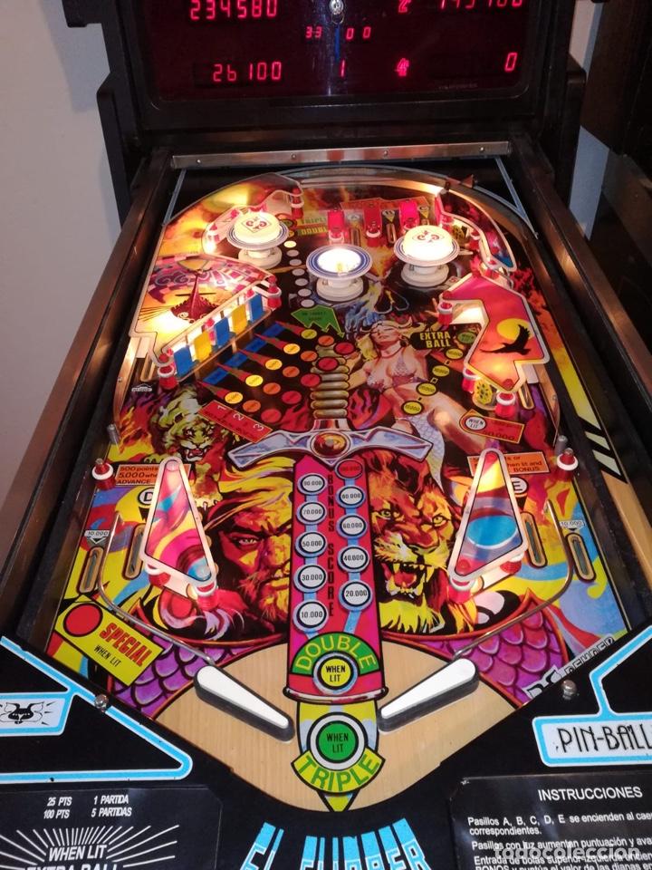 Vintage: Pinball Odín de Peyper, flipper,recreativa,pimball,Bally,inder,Williams,gottieb,billar,futbolin - Foto 4 - 141746802