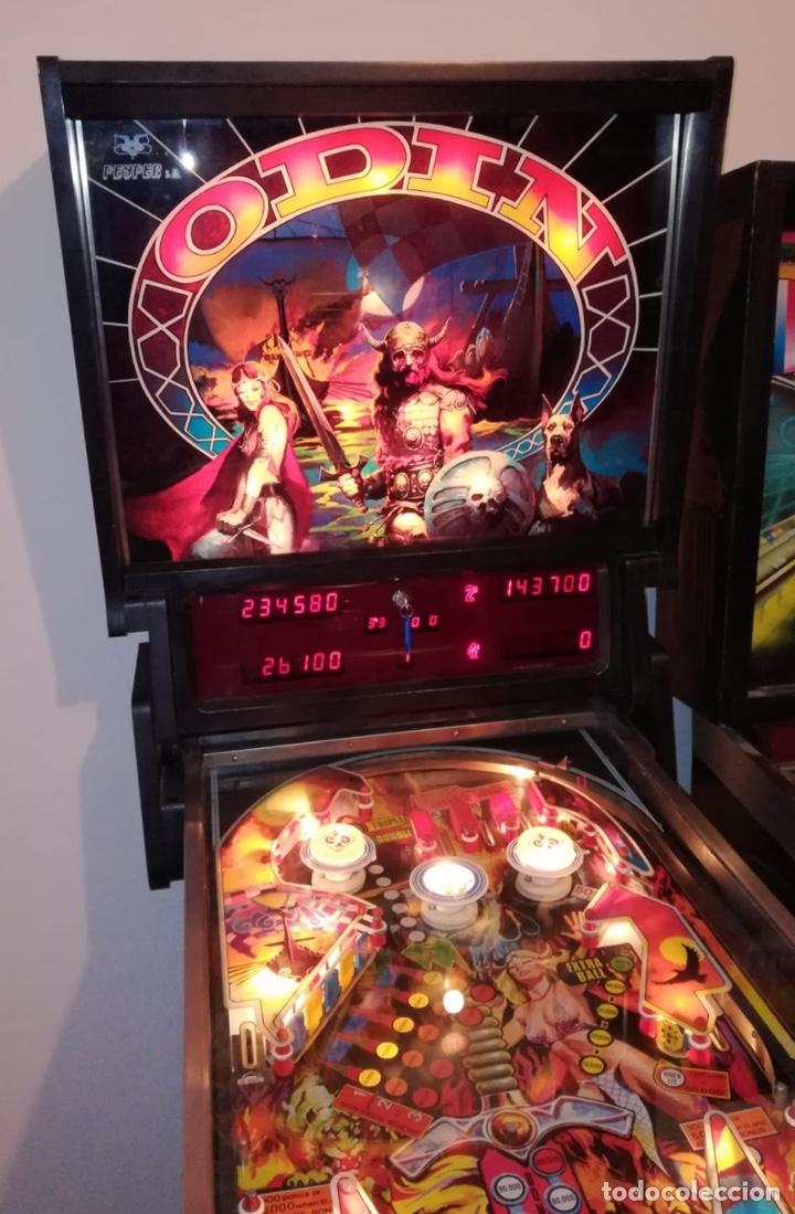 Vintage: Pinball Odín de Peyper, flipper,recreativa,pimball,Bally,inder,Williams,gottieb,billar,futbolin - Foto 9 - 141746802
