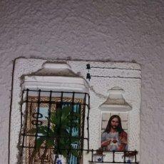 Vintage: ANTIGUO RECUERDO DEL CORAZÓN DE JESÚS DE FUENGOROLA. Lote 142364300