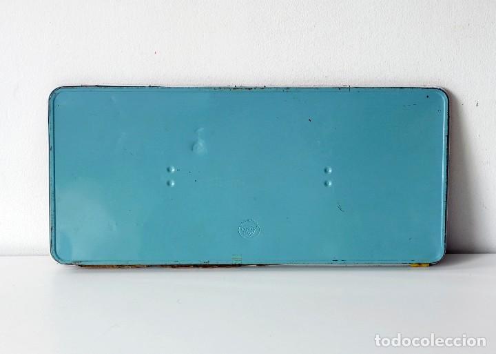 Vintage: Antigua caja de metal con pinturas de acuarelas Western Paint Box. Marca Page London Made in England - Foto 4 - 142473102