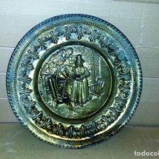 Vintage: PLATO DECORATIVO DE COBRE DE 30,5 CMS.... Lote 142625026