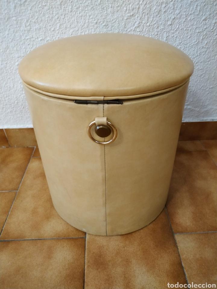 Vintage: Puff años 70 35 cm x 33 cm - Foto 4 - 142878382