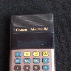 Vintage: CALCULADORA CANON PALMTRONIC 8M - JAPÓN LD-8M . Lote 143063270