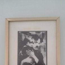 Vintage: CUADRO CHARLOT THE KID AÑOS SESENTA. Lote 143130658