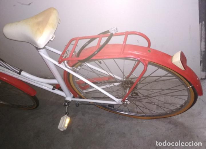 Vintage: BONITA BICICLETA ANTIGUA ORBEA EN BUEN ESTADO FUNCIONANDO, CON CAMBIO LUZ BOMBA ETC. - Foto 6 - 143379970