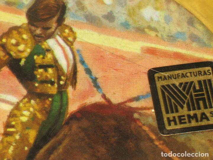 Vintage: Lote 17 posavasos Souvenir 70's Color. Folclore flamenco y toreo. VER FOTOS - Foto 9 - 144057414