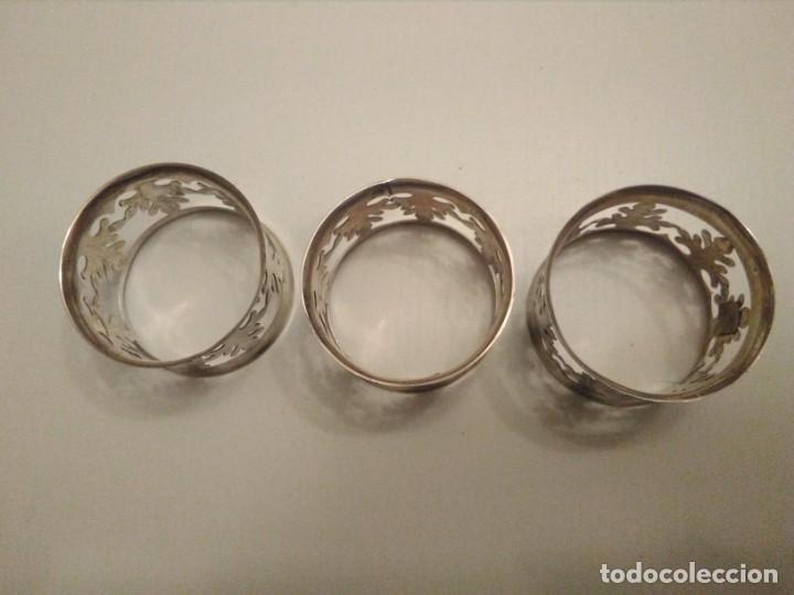 Vintage: Tres Servilleteros Metalicos - Foto 2 - 144164458