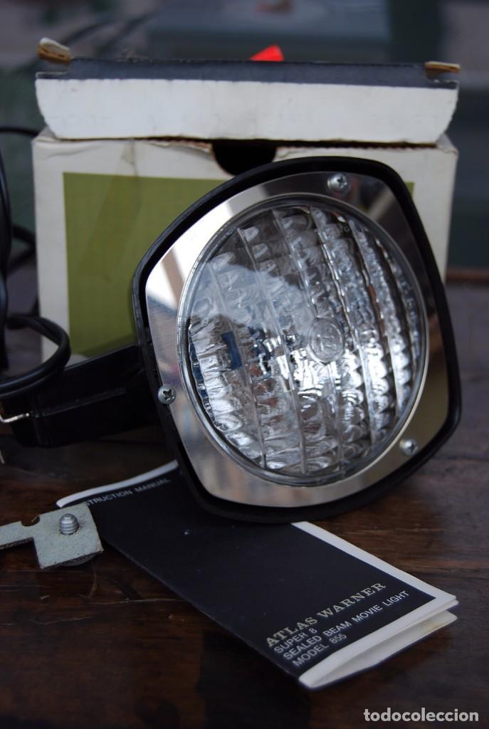 Vintage: VINTAGE LAMPARA FOCO CINE SUPER 8 MOVIE LIGHT ATLAS WARNER CORPORATION 650 WATT MADE IN U.S.A. - Foto 20 - 144204994