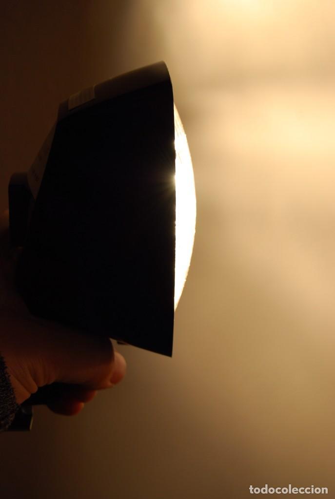 VINTAGE LAMPARA FOCO CINE SUPER 8 MOVIE LIGHT ATLAS WARNER CORPORATION 650 WATT MADE IN U.S.A. (Vintage - Varios)