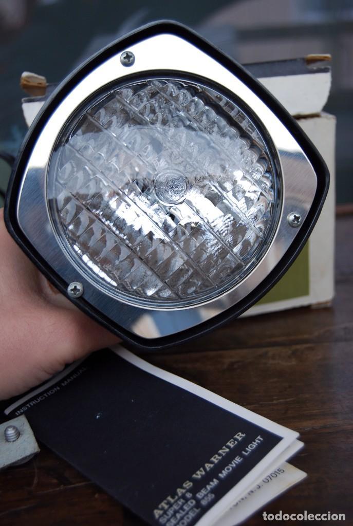 Vintage: VINTAGE LAMPARA FOCO CINE SUPER 8 MOVIE LIGHT ATLAS WARNER CORPORATION 650 WATT MADE IN U.S.A. - Foto 6 - 144204994